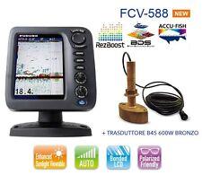 FURUNO FCV 588 ECOSCANDAGLIO / FISH FINDER - CON TRASDUTTORE B45 600W BRONZO