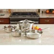Ever Clad™ 7pc Heavy Duty Stainless Steel Cookware Set pots pans pot pan cooking