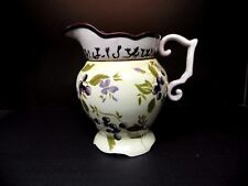 Tracy Porter Hand painted Sage Tea 96 oz Pitcher