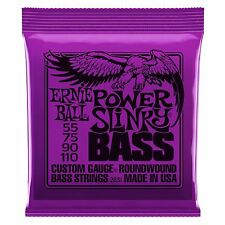 Ernie Ball Power Slinky Nickel Wound Electric Bass Guitar Strings Gauge 55 -110