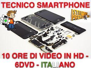 VIDEO CORSO RIPARARE CELLULARI E SMARTPHONE IN ITALIANO 6DVD