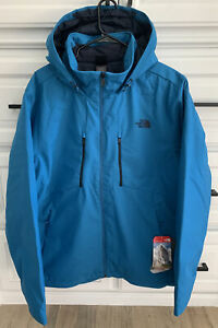 """THE NORTH FACE """"Apex Elevation"""" Men's Banff Blue Hooded Jacket Size XL"""