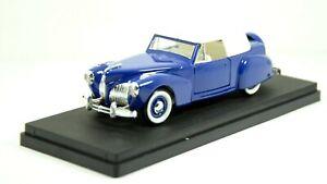 M1971 Modellino auto RIO scala 1:43 - 1941 LINCOLN Continental Cabriolet con box