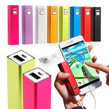 2600mAh USB External Portable Backup Battery Charger Power Bank for Mobile Phone