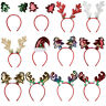 Party Christmas Headband Hair Accessories Antlers Hairband Xmas Tree Hair Hoop