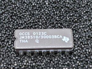 JM38510/30003BCA made by Texas Instruments 14 pin dip