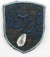 Applikation zum Aufbügeln Bügelbild 3 620 Wappen Mit Glas Stein