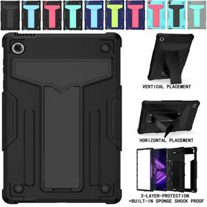 """For 10.3"""" Lenovo Tab M10 FHD Plus 2nd Gen TB-X606F/X Hard Armor Case Stand Cover"""