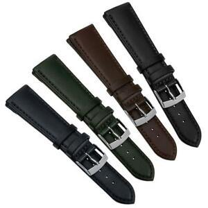 Lanciano Premium Vegan Eco Leather Watch Strap 18mm 20mm 22mm