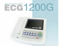 FDA 12-lead 12-channel Electrocardiograph ECG/EKG Digital Machine interpretation