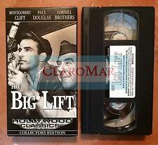 ☀️ The Big Lift VHS Montgomery Clift Paul Douglas Cornell Brothers MINT