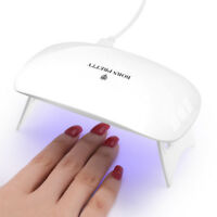 BORN PRETTY 6W Nail Dryer UV LED Lamp for UV Gel Polish Curing Nail Art Light