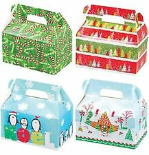 Christmas Holiday Treat Boxes ~ For Holiday Foods and Gifts ~ Includes 4 boxes a