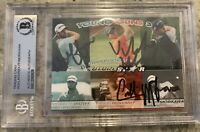 MATTHEW WOLFF COLLIN MORIKAWA VIKTOR HOVLAND YOUNG GUNS 3 AUTO ROOKIE CARD 🔥📈