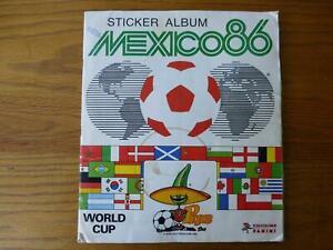 Panini Mexico 86 Complete Sticker Album 1986 World Cup