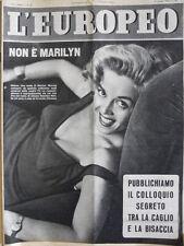 L' EUROPEO n°24 1954 Rosalina Neri la nostra Marilyn Monroe  [C76]