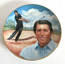 Vintage Gary Player Golfing Greats Hackett American Par Edition Golf Plate