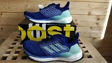 BNIB adidas Solar Boost Womens Running Shoes BB6602 blue green UK 4(eu 36.6)
