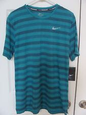 NWT Men's Nike Dri-Fit Touch Tailwind Running Shirt 724158 311 Size L,XL