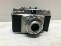 Vintage Agfa Film Camera W/ Lens Black and Silver COOL OLD MADE IN GERMANY