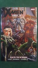 X-Men Legacy Back to School Premiere Edition Marvel New Sealed GN HC Hard Cover