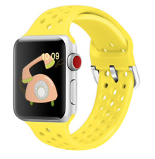 Correa para Apple Watch Series 1 2 3 4 5 pulsera perforada de silicona 42-44mm