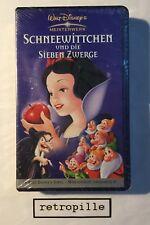 Schneewittchen,Walt Disney,VHS,Video,Top,Rar,Neu,OVP,Neu,selten,sealed