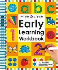 Early Learning Workbook - ABC 1-20 : Over 50 Pages of Wipe-Clean Letters and...