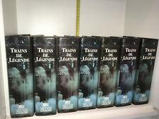 Lot 7 classeurs TRAINS DE LEGENDE éditions ATLAS en FICHES Chemins de Fer