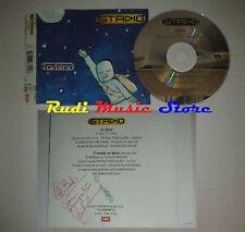 CD Singolo STADIO Lo zaino AUTOGRAFO Gaetano Curreri 1999 EMI Vasco Rossi dvd(S2
