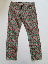 J Crew Women Liberty Toothpick in Emma and Georgina Floral Jeans NwT 32 14