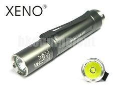 XENO S3A Cree XM-L2 1C U2 HDD Cool White CW 18650 LED Flashlight