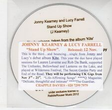 (EF936) Johnny Kearney & Lucy Farrell, Stand Up Show - 2012 DJ CD