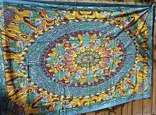 GRATEFUL DEAD TURTLE TERRAPIN STATION WALL TAPESTRY HIPPIE ART banjo bed sheet