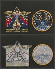 North Florida Council 2002 Scout Blast Patch Set - NICE!!