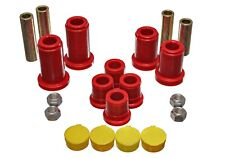 Energy Suspension Control Arm Bushing Set Red Front for 98-00 Yukon # 3.3180R