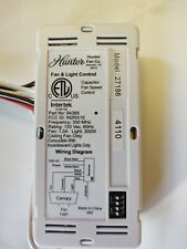 Hunter Ceiling Fan Receiver model 84368 - fan and light control