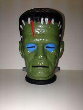 Vintage Frankenstein Gabriel Monster Machine Plaster AHI Painted Head