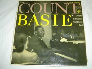 COUNT BASIE LP 1955 Vintage ORIGINAL Columbia CL 754 VG