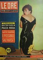 LE ORE N.181 1956 SANDRA MONDAINI