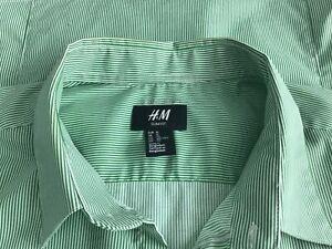 H & M Men's Shirt Slim fit  -  Size XLarge