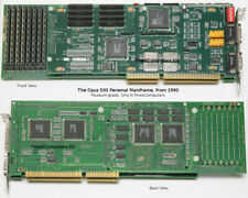 OPUS 500 PERSONAL MAINFRAME. From 1990. Very Rare ISA Board. Museum grade!