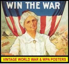 Hi Res WORLD WAR WPA ARMY RECRUITMENT POSTERS Lot DVD CD Wall Art Nouveau Deco