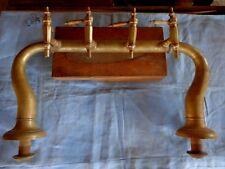 Pompe à bière laiton fin 19ème,café,bistrot,tégestophilie,original,déco loft