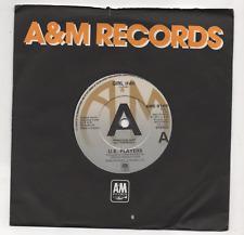 U.K. PLAYERS - GIRL (EDIT) / JIM'S JAM. (UK, 1981, PROMO, A&M, AMS 8169)