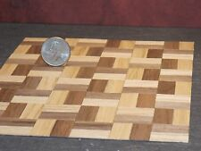 Dollhouse Miniature Parquet Wood Flooring Floor G 1:12 scale F37 Dollys Gallery