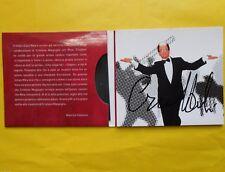 cara mina ti scrivo cd cristiano malgioglio autografo raro cd maurizio costanzo
