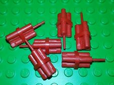 *NEW* Lego Dynamite Stick Red Explosives  Minifigures Figs Figures - 6 pieces