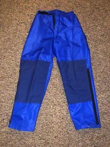 Marmot Mountain Works Gore-tex Ski Blue Shell Pants Size Small