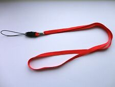 Red Lanyard Neck Strap for Camera / Mobile Phone / MP3 or Any Similar Item